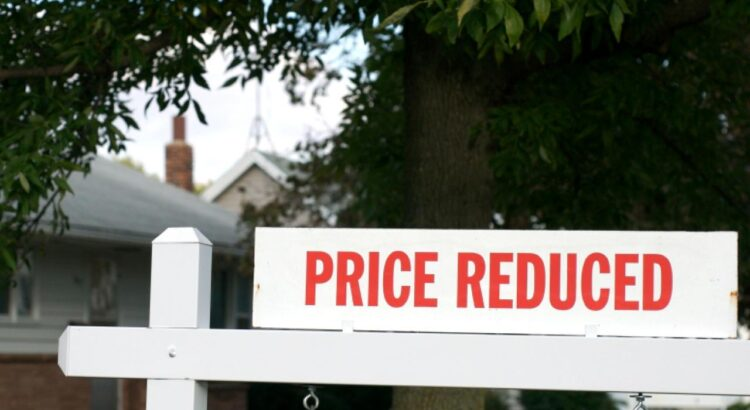Price reduced yard sign